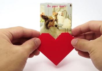 Support photo coeur - Fêtes vous même