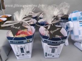 Cadeaux Invités Star Wars - Boites bonbons R2D2 - Fêtes vous même