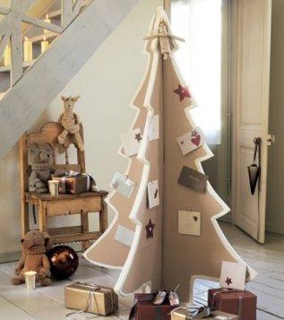 Sapin de Noël en carton - Fêtes vous même
