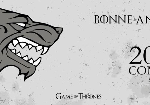 Réveillon Game of Thrones - Bandeau Bonne année 2017 - Fêtes vous même