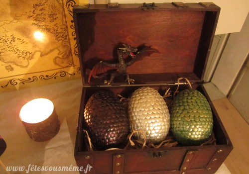 Réveillon Game of Thrones - Oeufs de dragon version Game of Thrones - Fêtes vous même