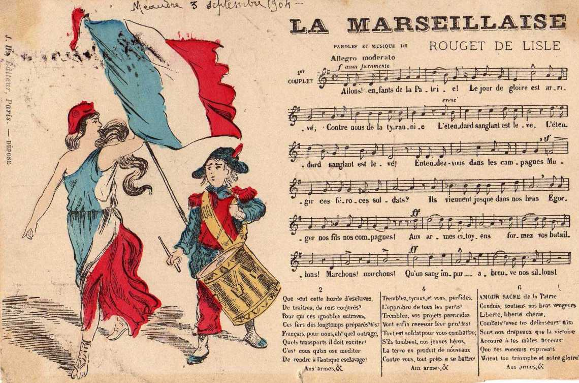 La Marseillaise - Fêtes vous même