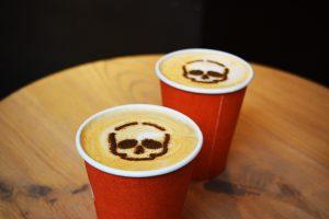 Café Latte Citrouille - Spécial Halloween - Fêtes vous même