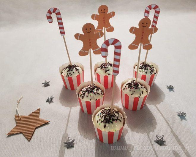 Cupcakes de Noël - Fêtes vous même