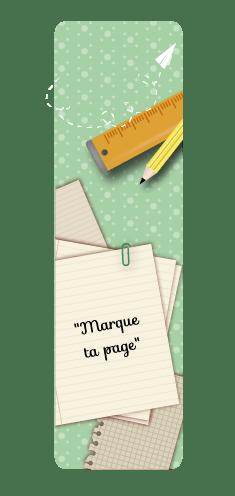 Marque-Page école - Fêtes vous même