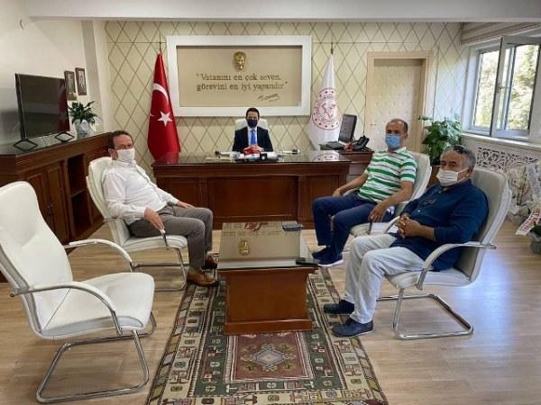 "TURGAY ÖZTÜRK'TEN ÇAY'A ""HAYIRLI OLSUN"" ZİYARETİ"