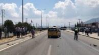 Fethiye'de hafif ticari araçla çarpışan elektrikli bisikletteki 2 kişi öldü