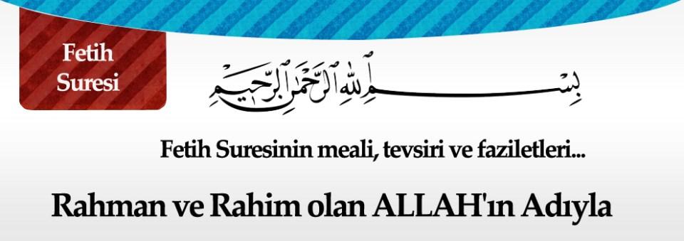 fetih banner Fetih Suresi Arapça Okunuşu ve Meali