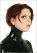 06011-latex-neck-corset-short