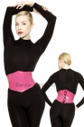 Waist-Corset-Stretchlack-Pink