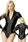 Body-with-front-zip-fastener-into-Shiny-Satin
