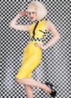 Latex-Canary-Pencil-Skirt