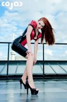 polkadot-pleated-open-back-dress