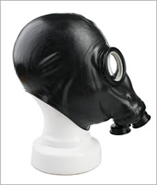 BlackStyle Russian gasmask with double tube connector