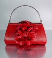 ooh la Latex red bag