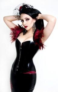 Peccatus Latex overbust corset