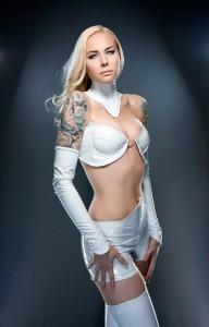 PVC Emma Frost Costume 2