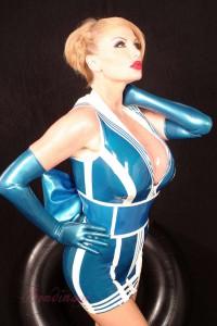 Sassy Sailor Latex Dress