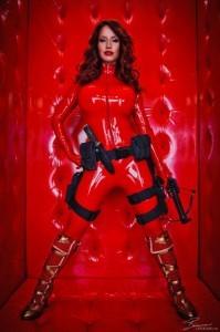 Crimson Catsuit