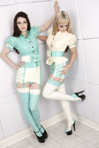 Alice Latex Girdle