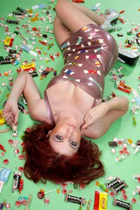 Candy Applique Dress