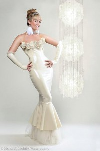 Belle Gown Latex wedding:gown dress