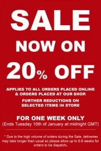 2012 January Sale