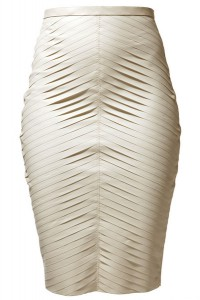 LATEX FEATHERBOARD SKIRT
