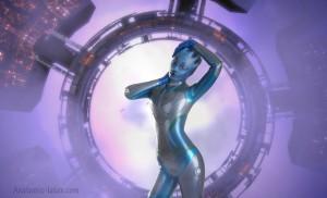 Mass Effect Asari 4