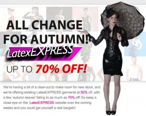 latexexpress autumn sale