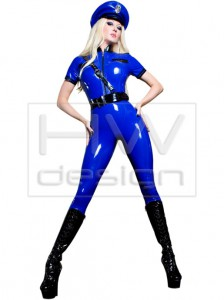 CATSUIT 23 - Police Catsuit 2