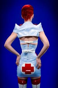 New Nurse PVC Costume 3