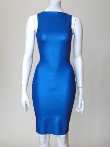 COCKTAIL DRESS - COBALT BLUE
