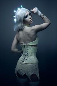 Glow Lace Corset Bras 2