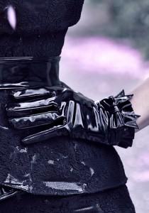 Victorian PVC gloves