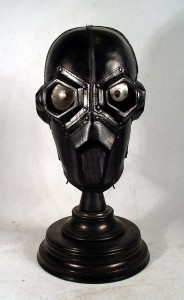 Black Leather GAS MASK