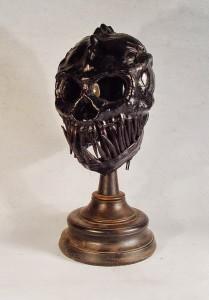 Teeth Monster Art leather mask