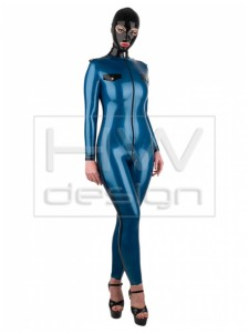 CATSUIT 26 Police Catsuit with long sleeves