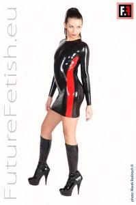 0431 NECK ENTRY DRESS