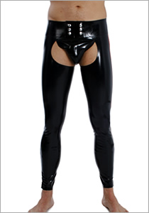 20035 Chaps, skin tight legs, with inside leg zips