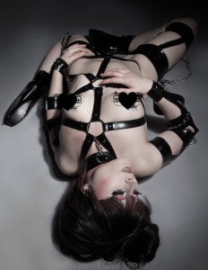 Fetasia Latex fetish Kink Latex Harness 2