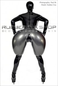 Inflatable Rubber Bloomers back