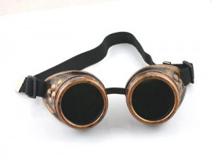 Steampunk Goggles スチームパンクゴーグルの例