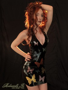 pinup butterfly dress
