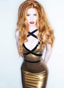 Latex Isis Strap Dress