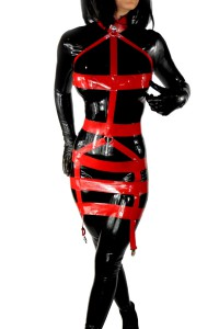 Latex Harness Dress
