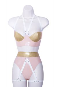 Extrico Latex Lingerie