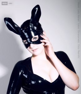 Bunny Latex Mask