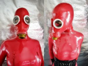 Latex Vogue、GP-5ガスマスク用のラバーカバーを販売中