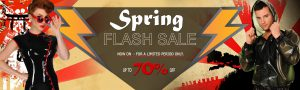 spring flash sale 2017